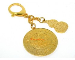 Health Amulet Feng Shui Keychain