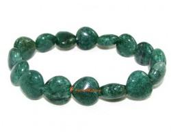 Hearts Crystal Bracelet - African Aventurine