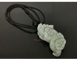 High Grade Jade Pi Yao Pendant with Ling Zhi Pendant