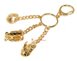 Horoscope Allies Keyring - Ox, Rooster and Snake