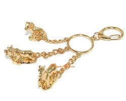 Horoscope Allies Keyring - Tiger, Dog and Horse