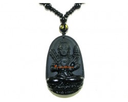 Horoscope Guardian Deity  Protector for Ox and Tiger Pendant