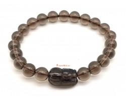 Icy Obsidian Piyao Bracelet