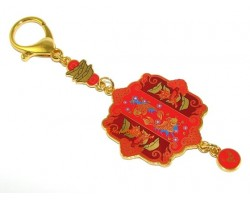 Increasing Business Talisman Keychain
