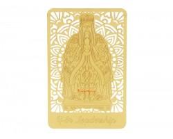 Jade Emperor Gui Ren Gold Talisman Card