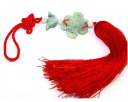 Jade Feng Shui Mystic Knot Tassel