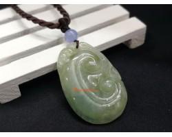 Jade Ling Zhi Pendant
