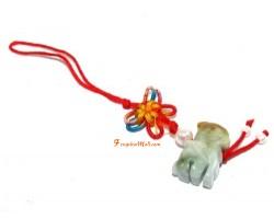 Jade Piyao Lucky Charm Mobile Hanging