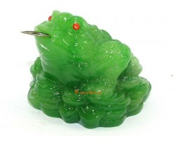 Jadeite Money Frog on Ingots