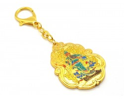 Kuan Kung with Anti Burglary Amulet