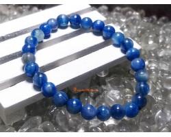 High Grade Kyanite Crystal Bracelet (7mm)