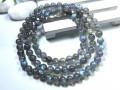 Labradorite Natural Crystal 3-Round Bracelet 7mm