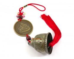 Laughing Buddha Bell Tassel