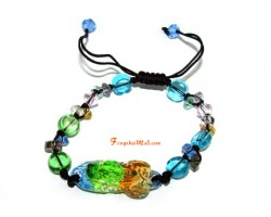 Colorful Liuli Feng Shui Piyao Bracelet