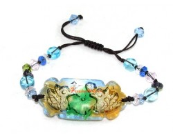 Colorful Liu li Crystal Mandarin Ducks Bracelet