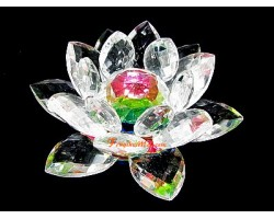 Feng Shui Crystal Lotus Flower
