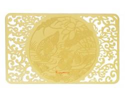 Love & Happiness Gold Talisman Card