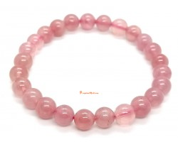 Madagascan Rose Quartz Bracelet (High Grade)