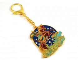 Magical Windhorse Amulet Keychain