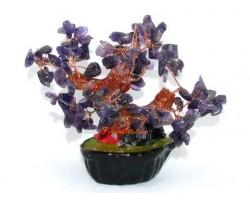 Mini Amethyst Crystal Gem Tree