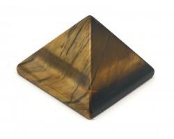 Mini Crystal Pyramid - Tiger Eye