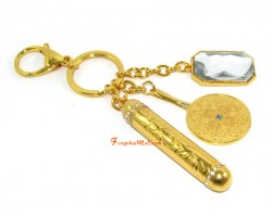 Mirror Charms with Talisman Keychain