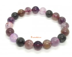 Mixed Auralite Crystal Bracelet