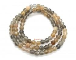 Mixed Sun Stone 3-Round Bracelet (5.6mm)