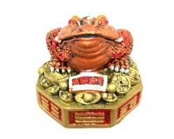Money Frog on Bagua and Treasure