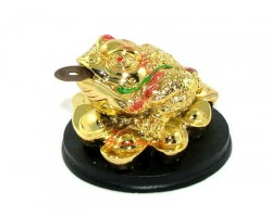Money Frog on Gold Ingots to Attract Wealth