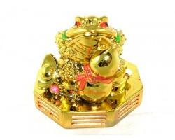Money Frog on Bagua with Wu Lou