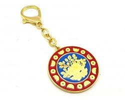 Mongoose Wealth Amulet Keychain
