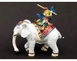 Monkey God On Elephant
