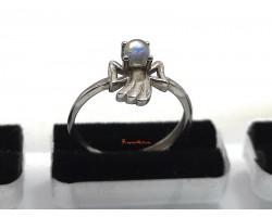 Angel Moonstone Ring
