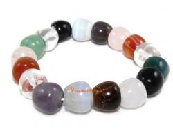 Multi-Crystal Apple Bracelet