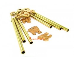 6 Rods 3 Chi Lin Windchime with Mystic Knot