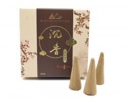 Natural Fragrant Agarwood Incense Cones (55 pcs)