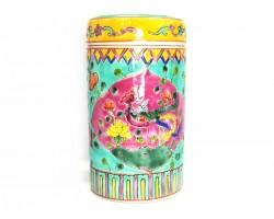 Nyonya Tea Leaves Canister - Food Jar - Green