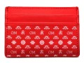 Om Card Holder - Red