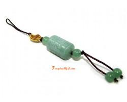 Om Mani Padme Hum Amulet Mobile Hanging (Aventurine)