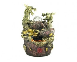 A pair of Dragons Feng Shui Water Feature
