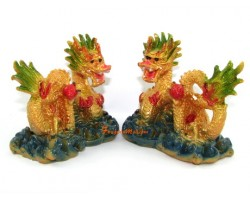 Pair of Feng Shui Dragons