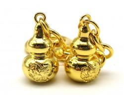 Pair Garuda Wu Luo with Anti Illness Amulet Keychain
