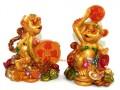 Pair of Cheeky Monkeys Hoarding Treasures