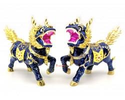 Pair of Dragon Horse