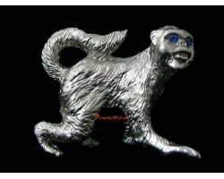 Pewter Horoscope Animal - Monkey