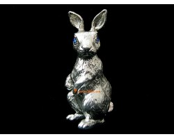 Pewter Horoscope Animal - Rabbit