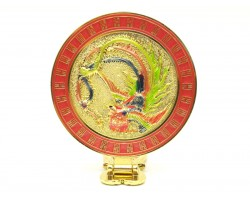 Phoenix Mirror with Wish-Granting Mantra