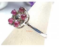 Pink Tourmaline Luck Transforming Ring