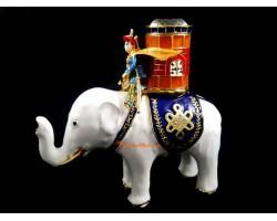 Power Elephant with Warrior